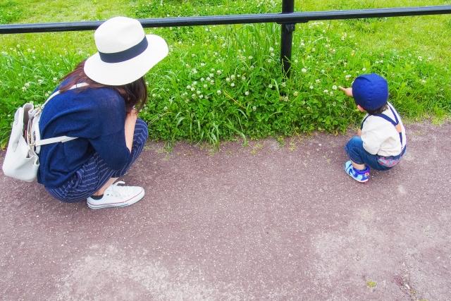 1歳児オススメの遊びお散歩