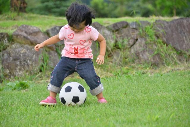 ボール遊びも1歳児のオススメ